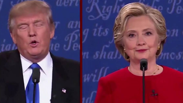 In First Debate Hillary Clinton Proved She Ain't Scared